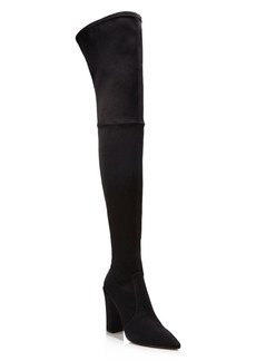 Dolce Vita Women's Ellis Satin Over-the-Knee Boots - 100% Exclusive