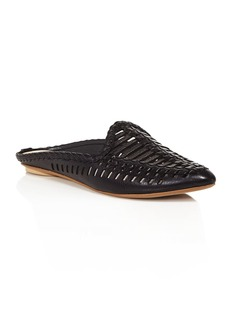 Dolce Vita Women's Ginny Woven Leather Mules - 100% Exclusive