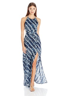 Dolce Vita Women's High Tide Halter Maxi Dress Cover Up  L