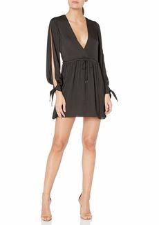 Dolce Vita Women's Jenny Satin Flow Dress  S