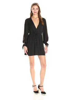 Dolce Vita Women's Jenny Satin Flow Dress  XS