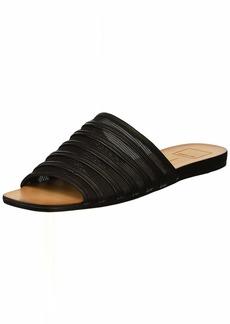 Dolce Vita Women's KATLEE Slide Sandal Black MESH  M US