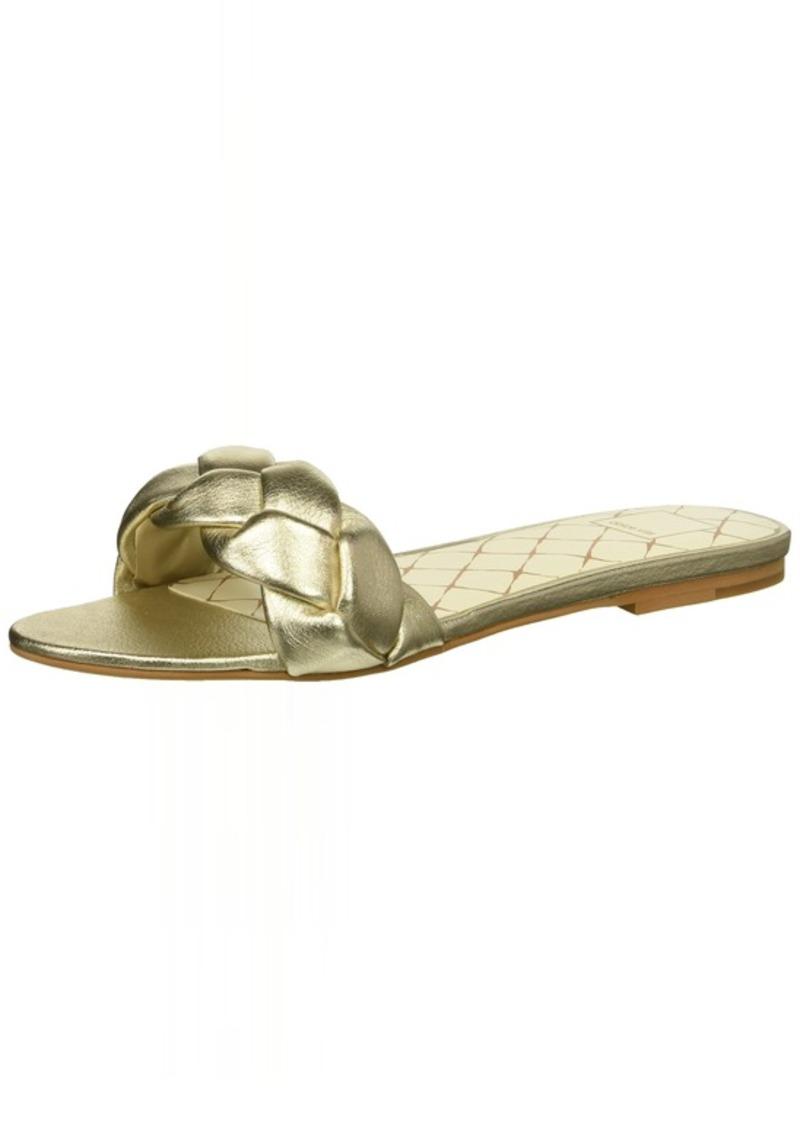 Dolce Vita Women's KIMANA Slide Sandal LT Gold Leather  M US