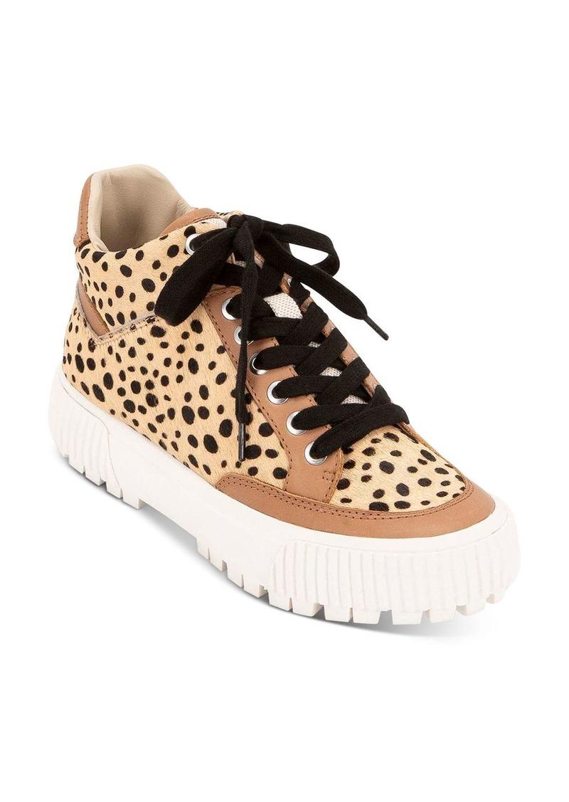 Dolce Vita Women's Rose Leopard-Print Platform Sneakers