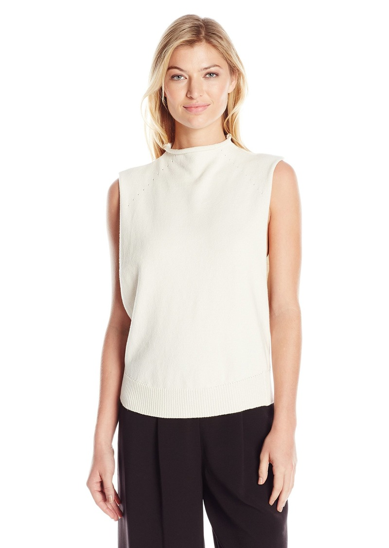 Dolce Vita Women's Skyler Solid Open Side Sleeveless Sweater