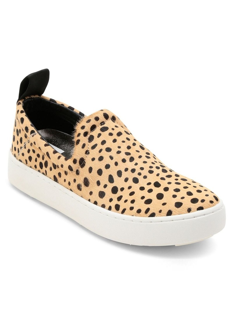 Dolce Vita Women's Tag Leopard-Print Calf Hair Slip-On Sneakers