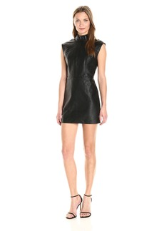 Dolce Vita Women's Vegan Leather Mimi Dress  S