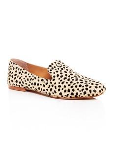 Dolce Vita Women's Wynter Leopard Print Calf Hair Smoking Slippers