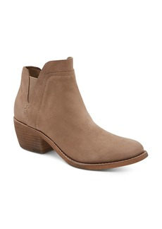 Dolce Vita Women's Zabi Nubuck Leather Mid Heel Booties