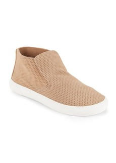Dolce Vita Xai Perforated Suede Sneakers