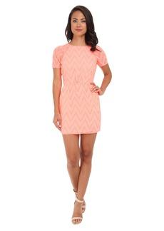 DV by Dolce Vita V Eyelete Lace Dress
