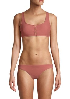 Dolce Vita Front-Snap Bikini Top