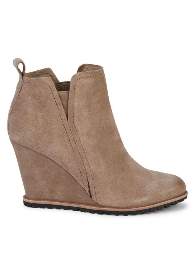 Dolce Vita Gianni Suede Wedge Booties