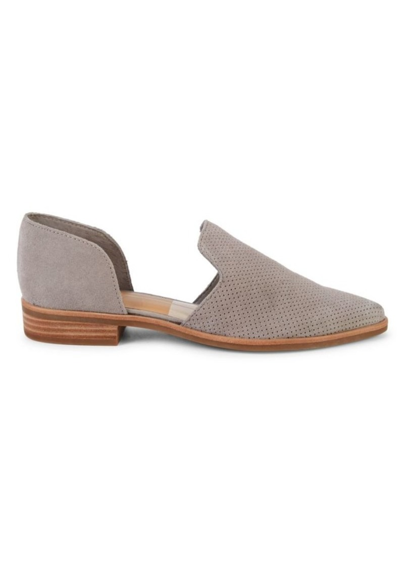 Dolce Vita Kanon Perforated Suede d'Orsay Flats