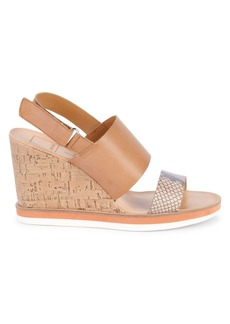 Dolce Vita Lily Textured Wedge Sandals