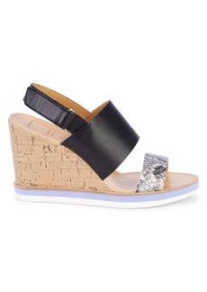 Dolce Vita Lily Wedge Slingback Sandals