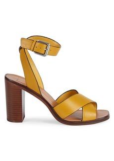 Dolce Vita Nala Ankle-Strap Leather Sandals