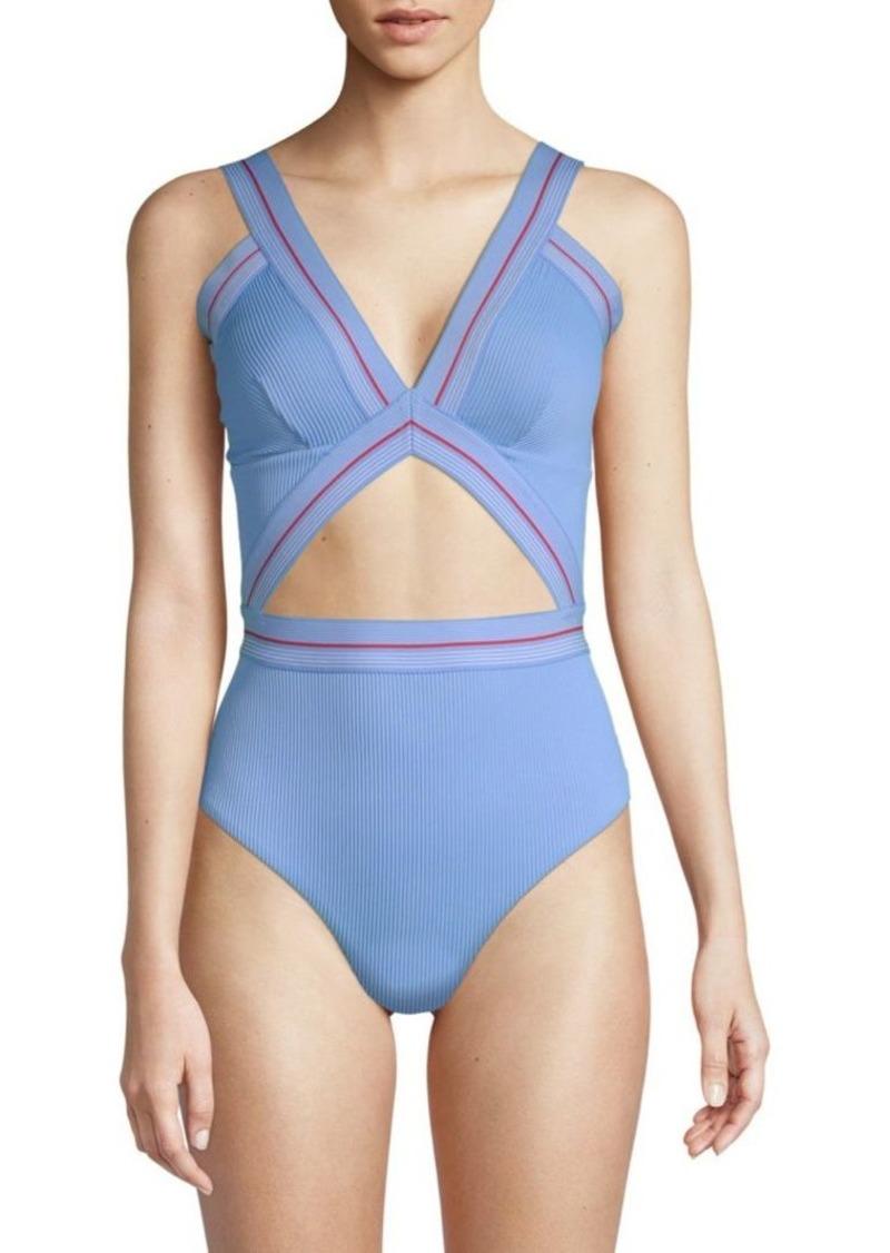 7e8ecbb841 Dolce Vita One-Piece Cutout Swimsuit   Swimwear