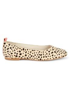 Dolce Vita Ozzie Cheetah-Print Calf Hair Flats