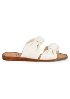 Dolce Vita Pascal Double Strap Knot Slip-On Sandals