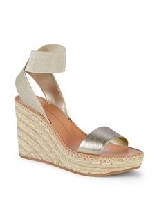 Dolce Vita Pavlin Metallic Wedge Sandals