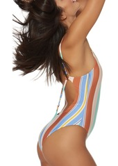 Dolce Vita Plunge Back One-Piece Swimsuit