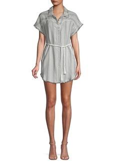 Dolce Vita Printed Belted Shift Dress