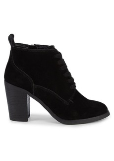 Dolce Vita Salor Suede Stack-Heel Booties