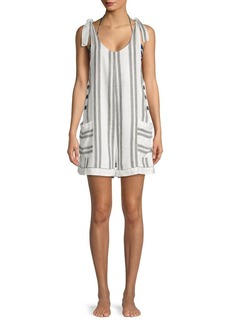 Dolce Vita Sleeveless Striped Romper