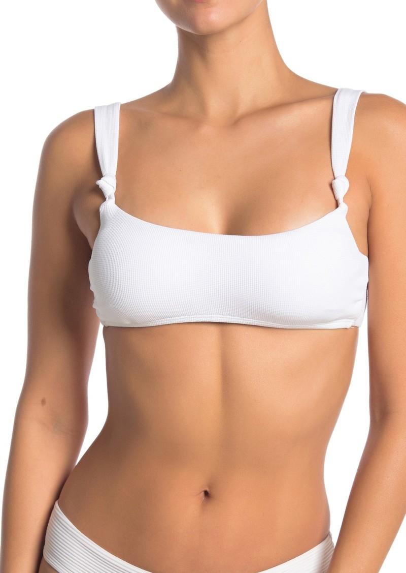 Dolce Vita Square Neck Knot Bikini Top