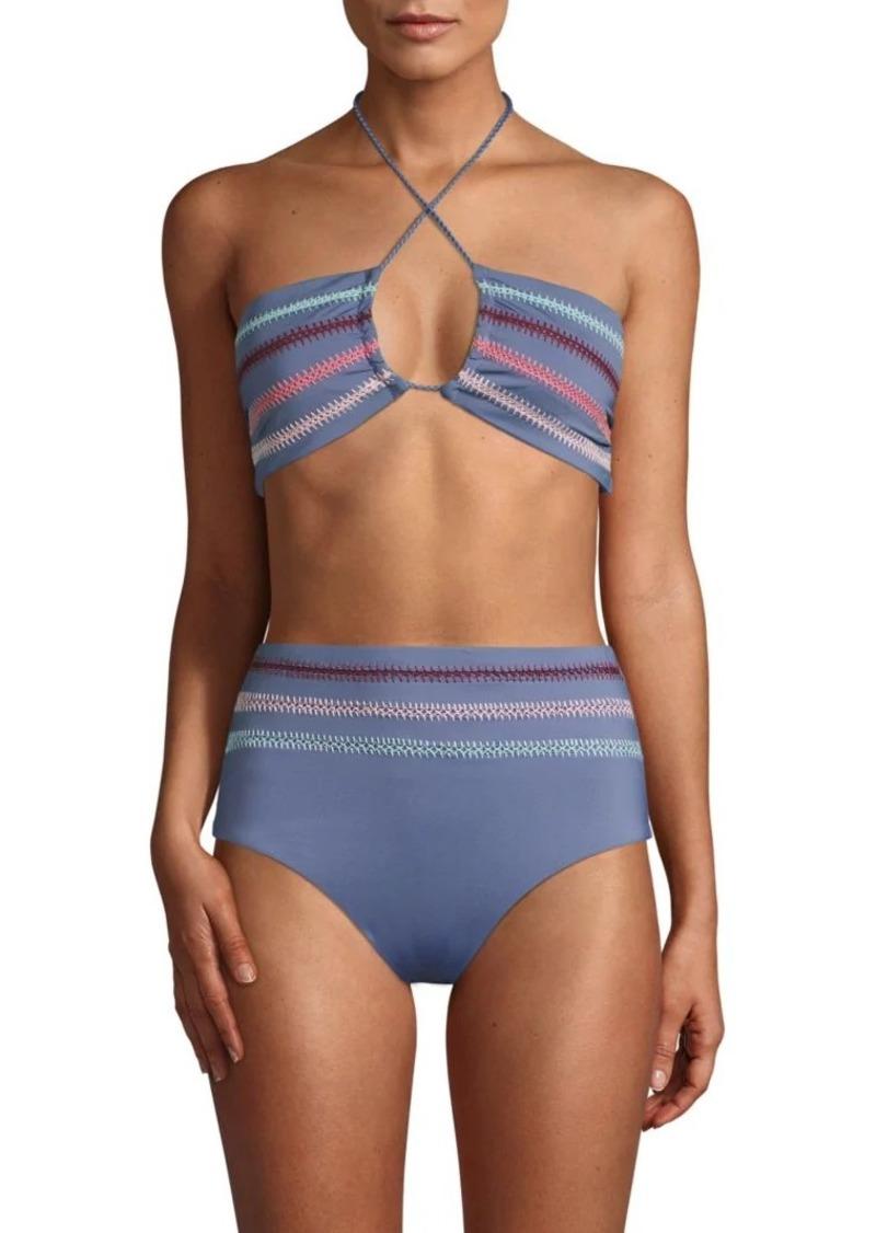 8d4bd142f2f8f Dolce Vita Textured Crochet Bikini Top Now $39.99