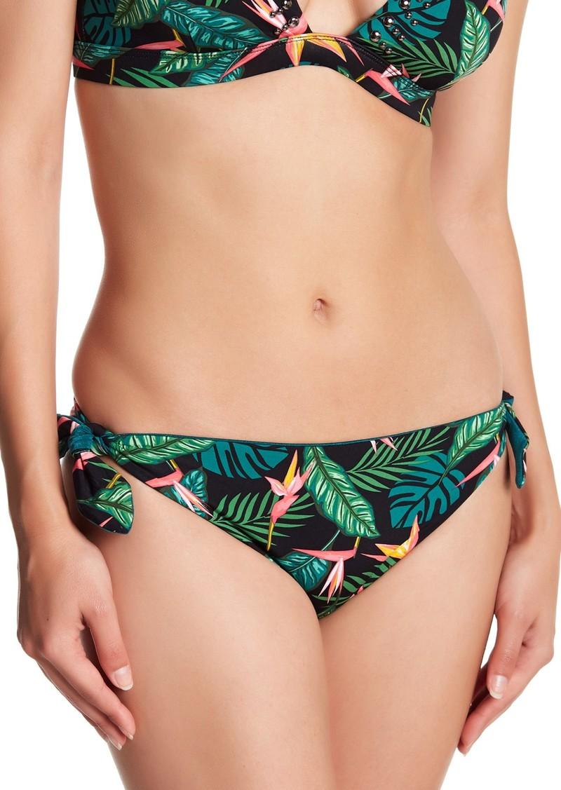 Dolce Vita Tropical Tie Side Reversible Bikini Bottoms