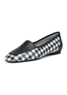 Donald J Pliner Deedee Gingham Flat Loafers