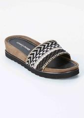 Donald J Pliner + Tribal Slide Wedge Sandals