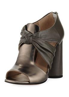 Donald J Pliner Bailey Knot-Front Block-Heel Sandal