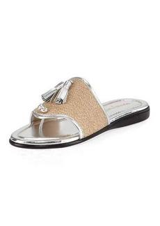 Donald J Pliner Bia Tassel Flat Sandal