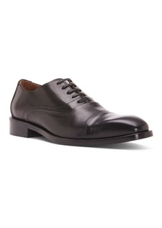 Donald J Pliner Cap Toe Leather Oxfords