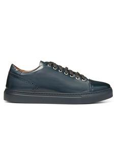 Donald J Pliner Cutout Detail Leather Sneakers