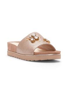 Donald J Pliner Cyrasp Embellished Flatform Sandals