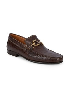 Donald J Pliner Dacio Leather Loafers