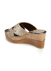 Donald J Pliner 'Dani' Crisscross Wedge Sandal (Women)