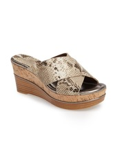 Donald J Pliner 'Dani' Crisscross Wedge Sandal (Women)