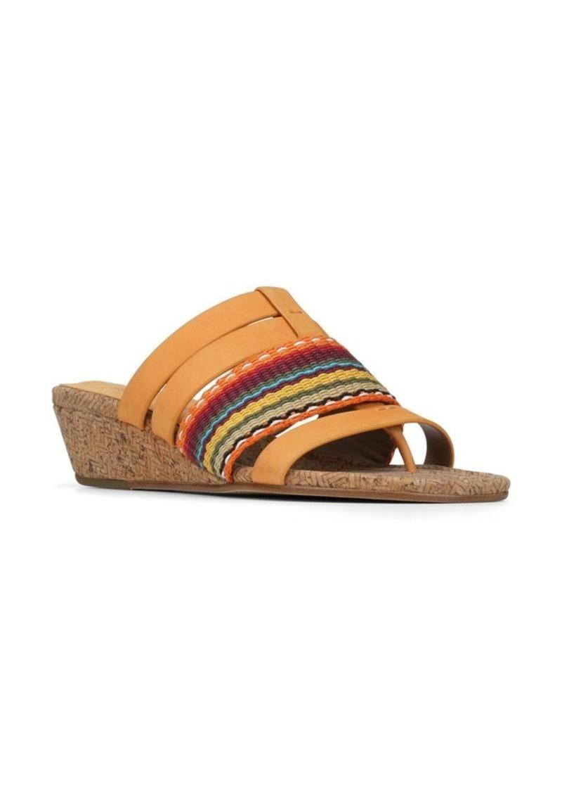 5d76dc8a59a Donald J Pliner Donald J Pliner Dara Leather Wedge Sandals