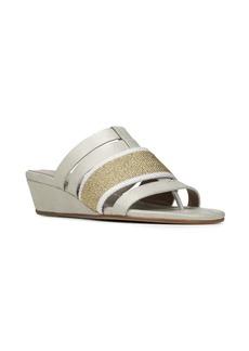 Donald J Pliner Dara Leather Wedge Sandals