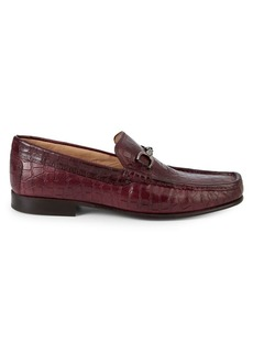 Donald J Pliner Darrin Leather Loafers