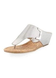 Donald J Pliner Dart Lizard-Embossed Sandal