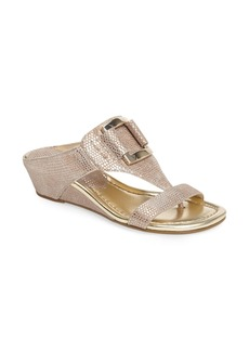 Donald J Pliner Daun Wedge Sandal (Women)