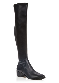 Donald J Pliner Dayle Stretch Nappa Leather Over The Knee Boots