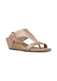 Donald J Pliner Doli Metallic Wedge Sandals