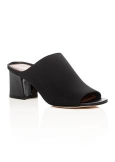 Donald J Pliner Ellis Mid Heel Slide Sandals